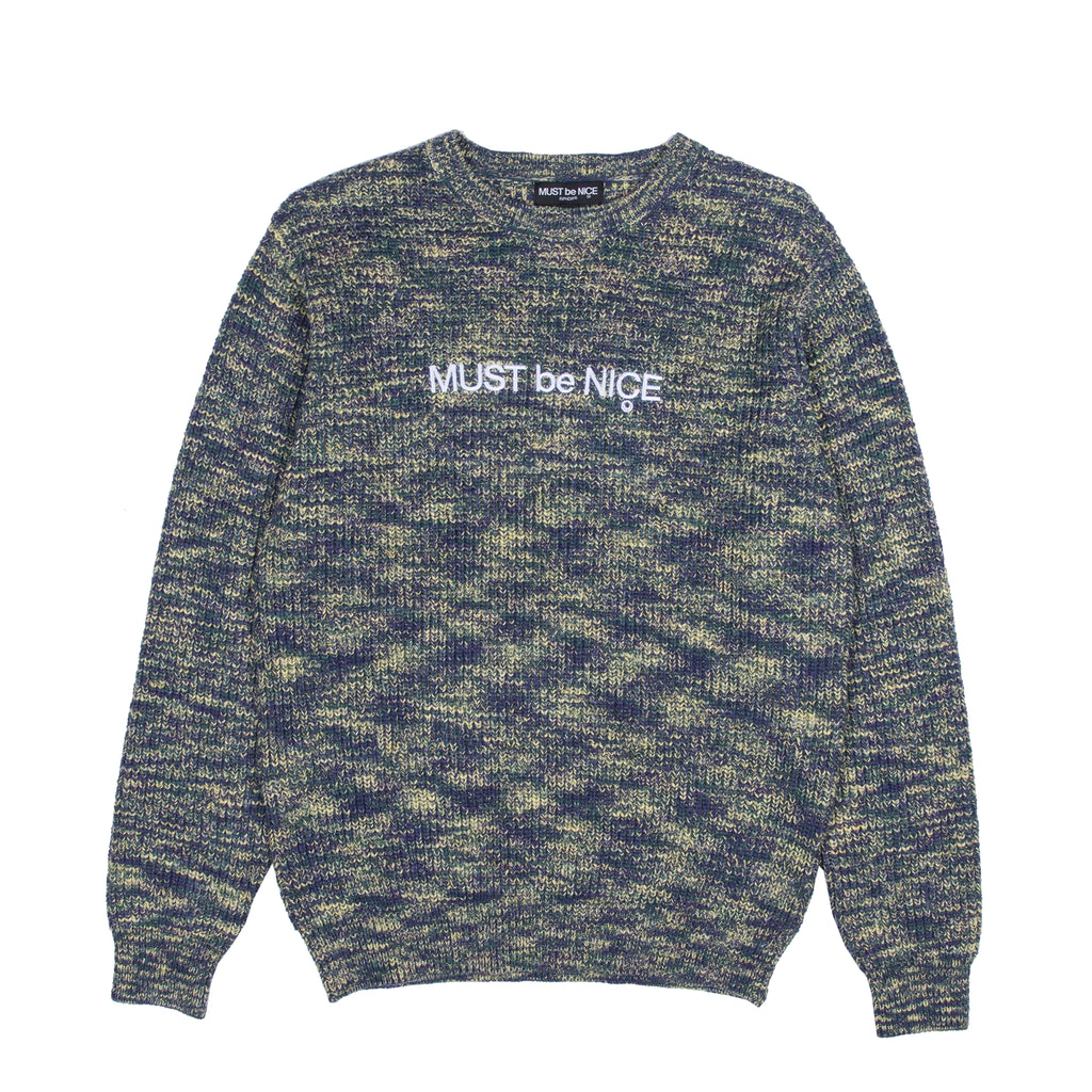 Must Be Nice Sweater (Blue/Green)