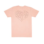 Love Affair Tee (Peach)