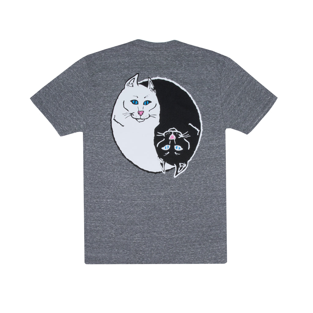 Nermal Ying Yang Tee (Heather Gray)