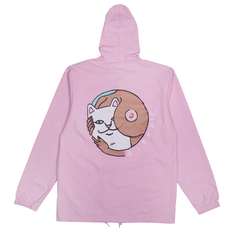 Must Be Nice Boobies Rain Coat (Pink)