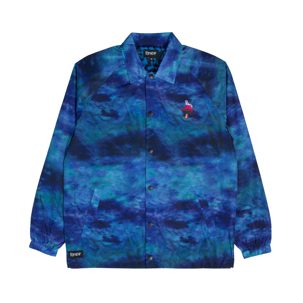 Psychedelic Coaches Jacket (Blue)
