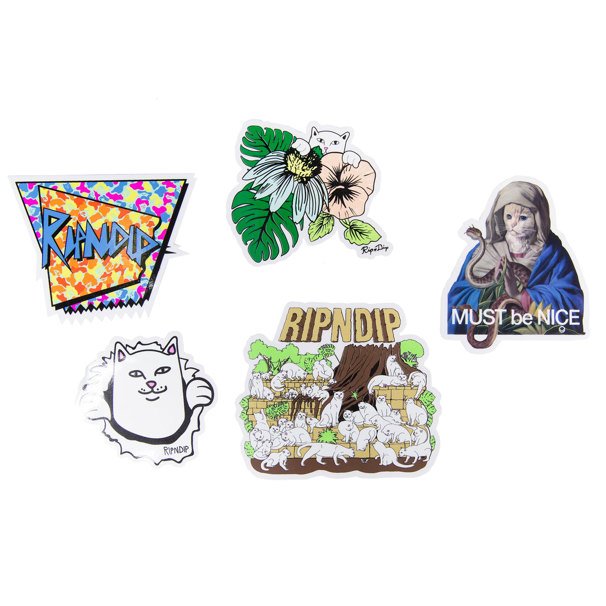 Summer 18 Sticker Pack Ripndip