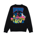 Psychedelic Knit Sweater (Black)
