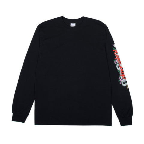 Serpent L/S Tee (Black)