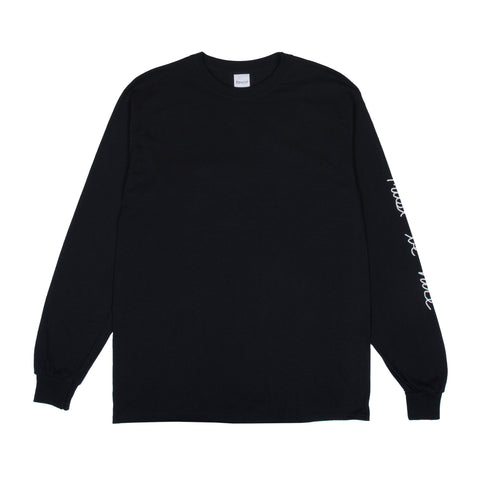 Romantic Nerm L/S Tee (Black)