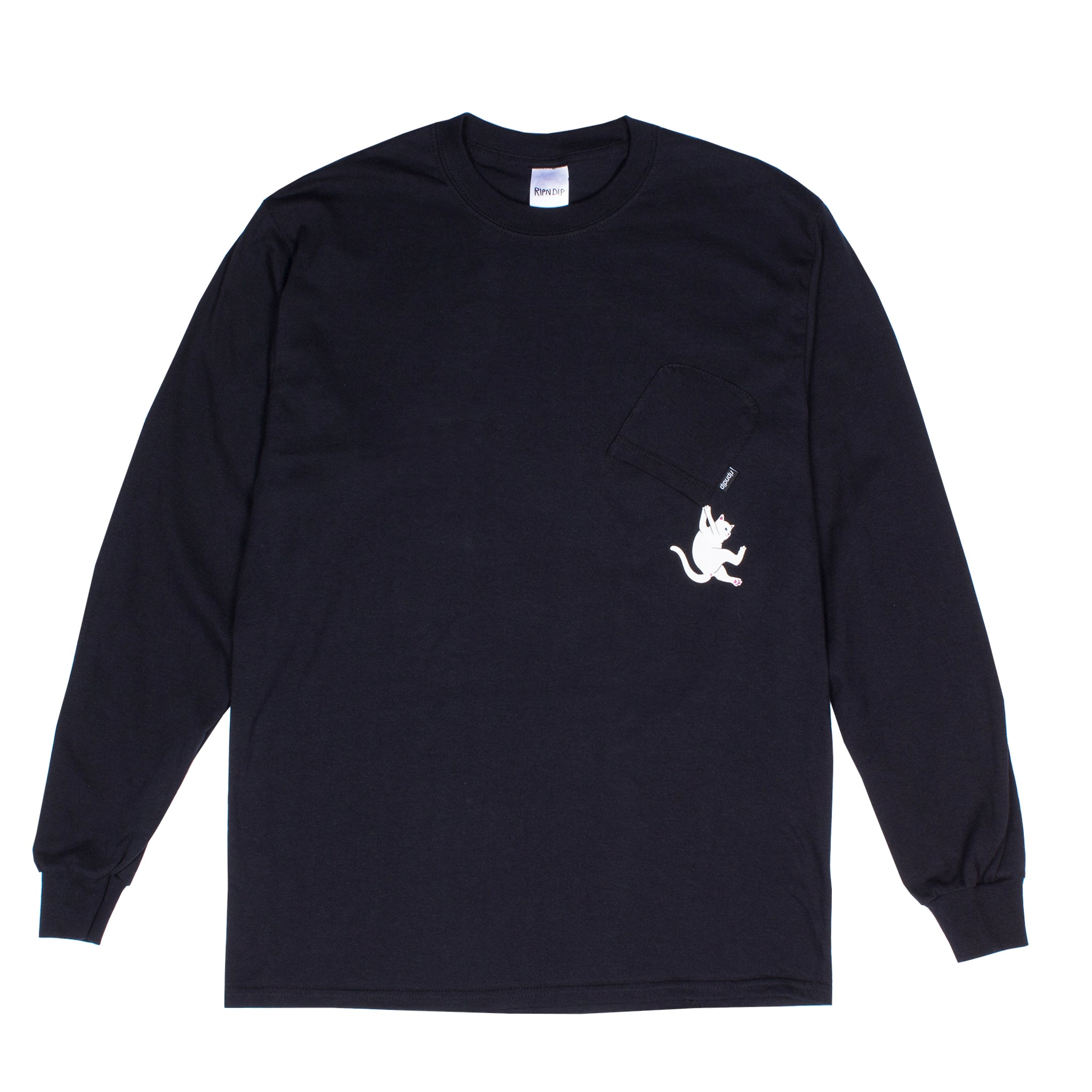 Hang In There L/S (Black)