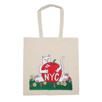 New York Tote Bag (Natural Canvas)