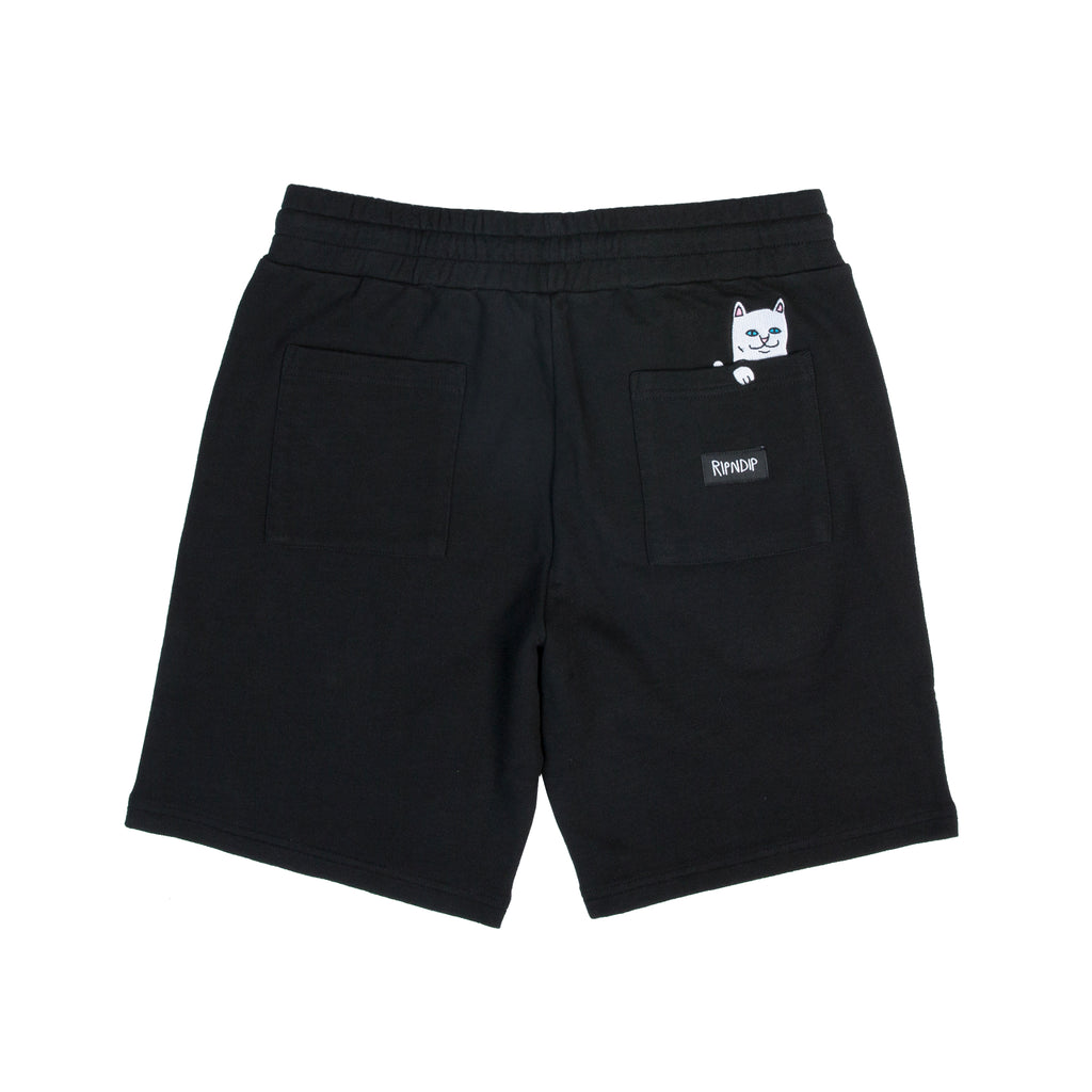 Peek A Nermal Sweat Shorts (Black)