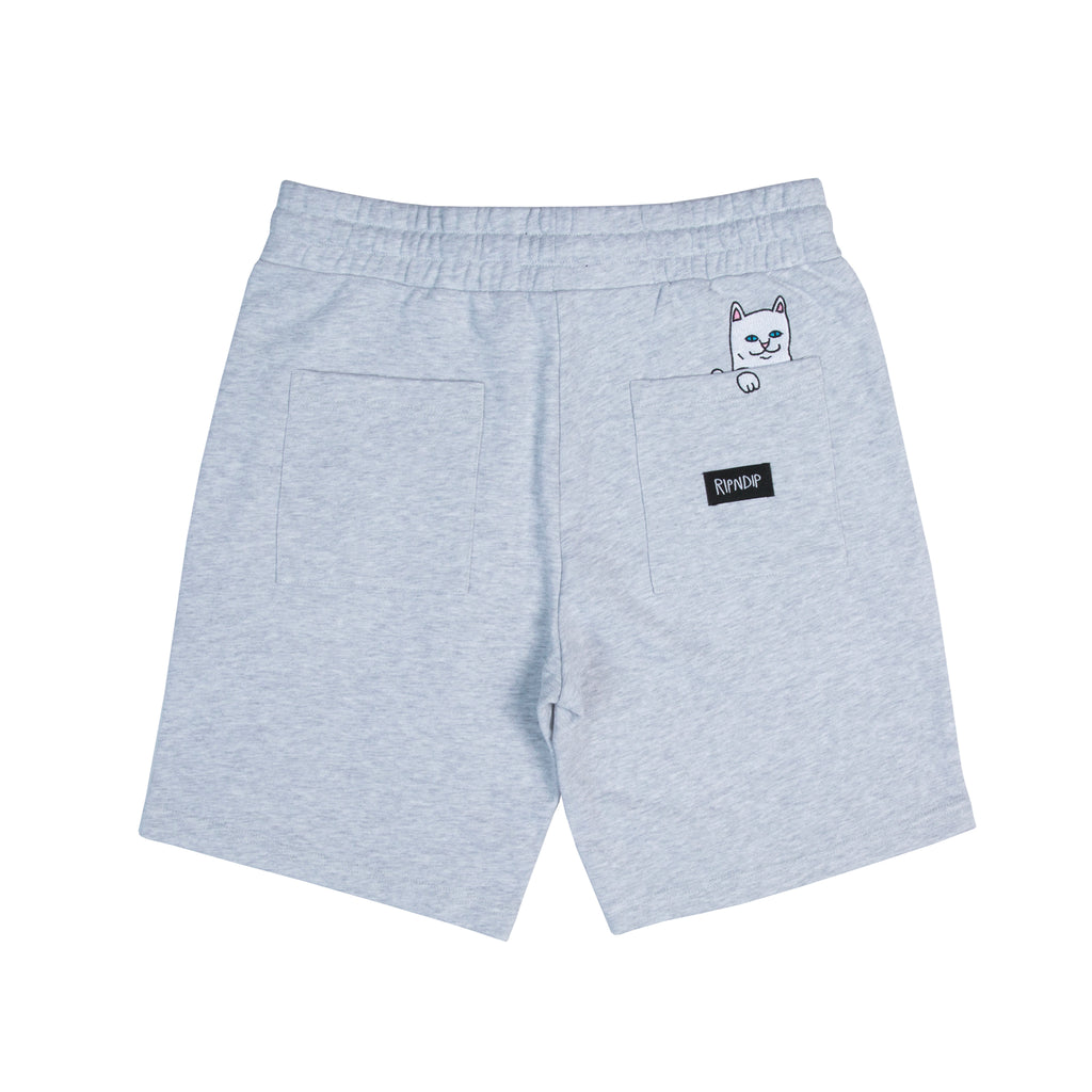 Peek A Nermal Sweat Shorts (Heather Gray)