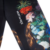Bouquet Sweat Pants (Black)
