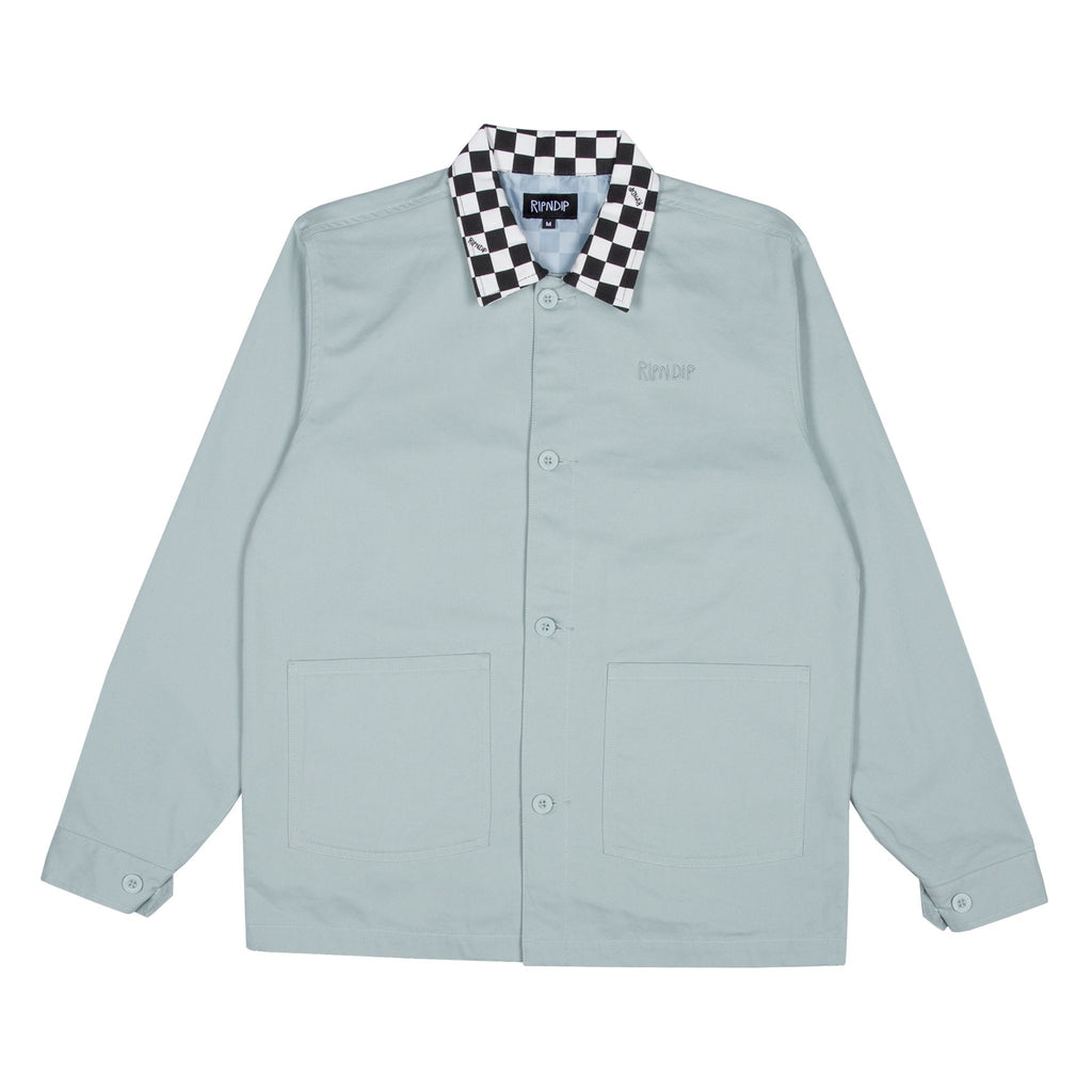 Finish Line Twill Work Jacket (Teal)