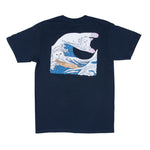 The Great Wave Of Nerm Tee (Navy Blue)