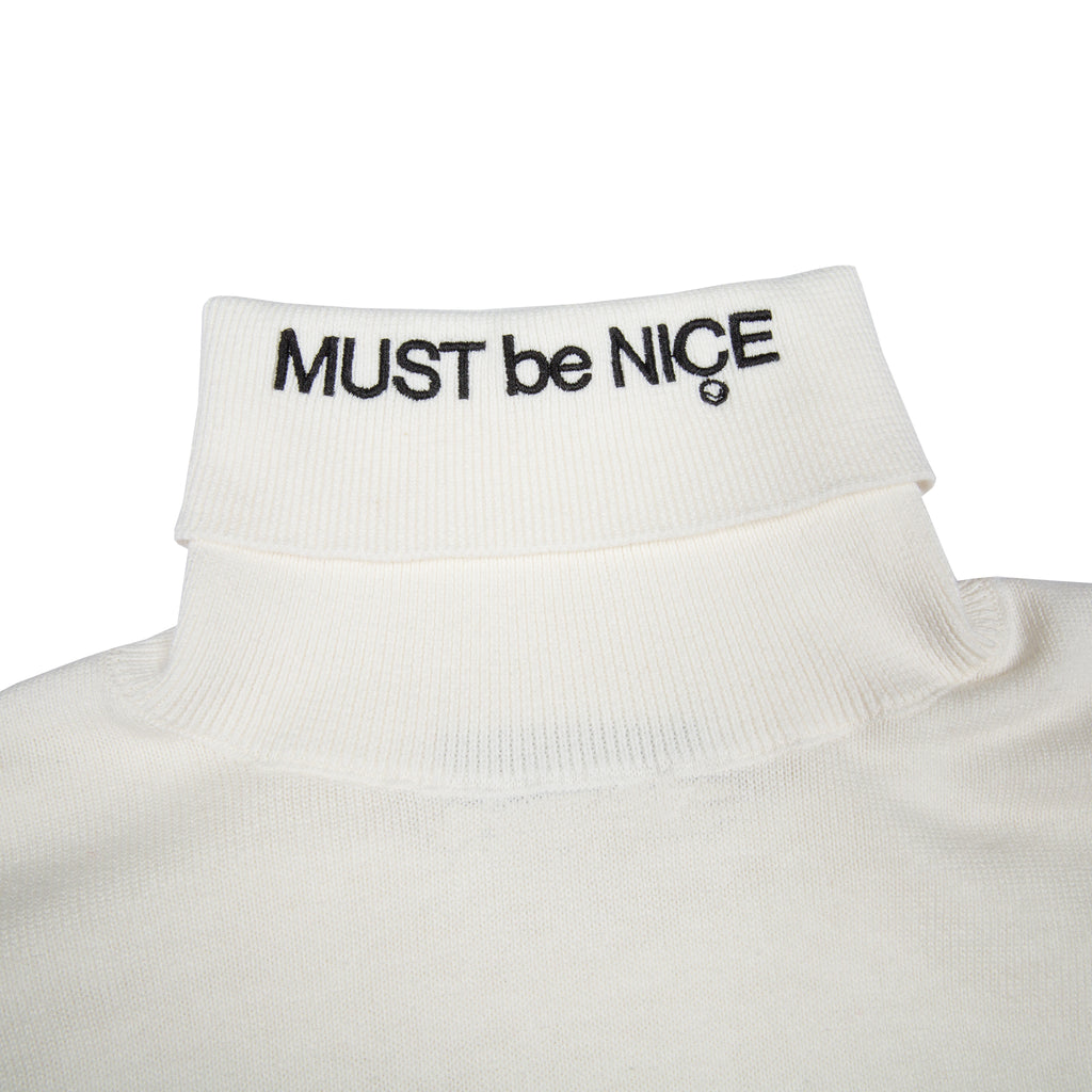 MBN Turtleneck (White)