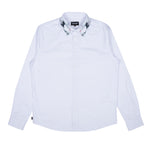 The Great Wave Of Nerm Button Up (White)