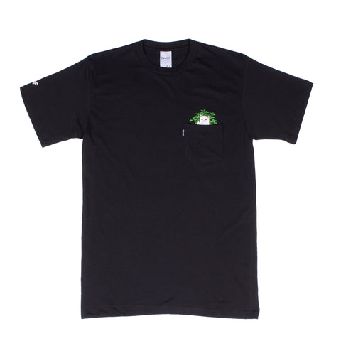 Cat Nip Pocket Tee (Black)