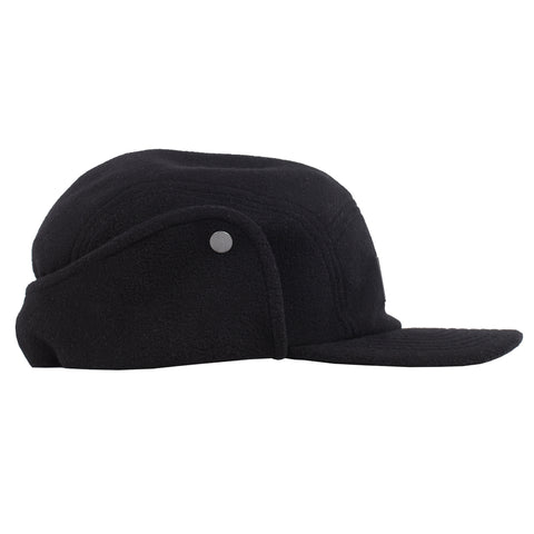 Rubber Stamp Polar Fleece Camp Hat (Black)