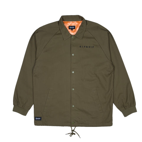 Praying Hands Twill Jacket (Olive)