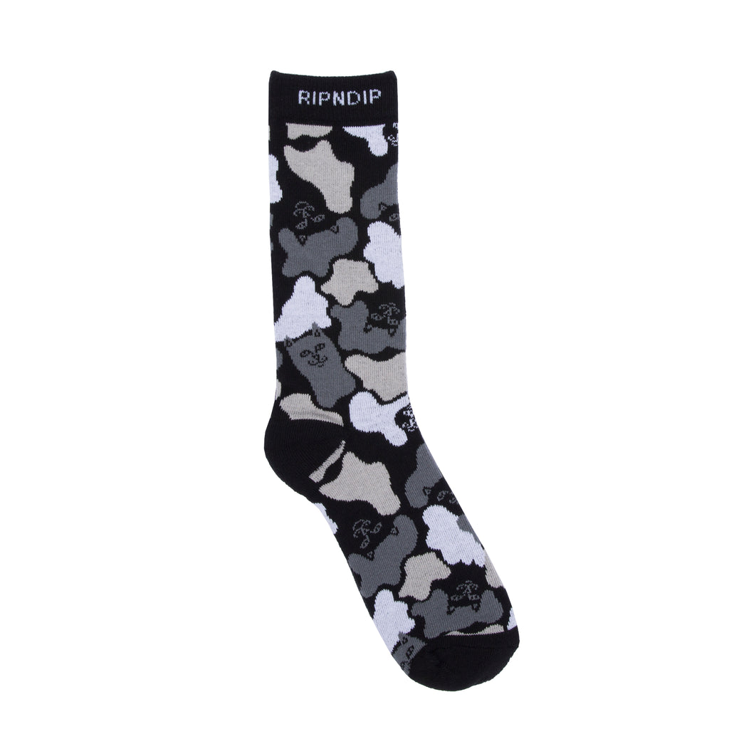 Blizzard Socks (Black Camo)