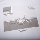 Go Away Tee (White)