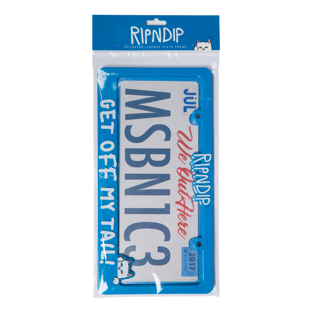 Tailgater License Plate Frame (Blue)