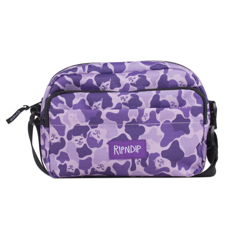 Invisible Shoulder Bag (Purple Camo)
