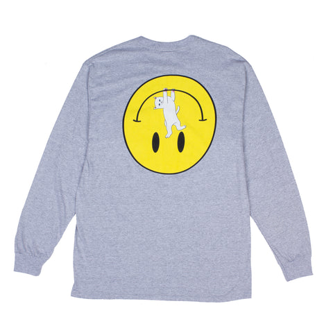 Everything Will Be Okay L/S Tee (Gray)