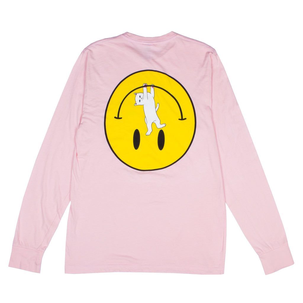 Everything Will Be Okay L/S Tee (Pink)