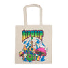 Psychedelic Tote Bag (Natural Canvas)