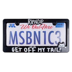 Tailgate License Plate Frame (Black)