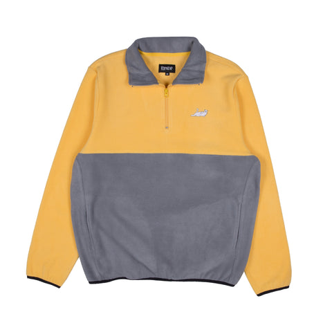 Castanza 3/4 Zip Up (Yellow & Charcoal)