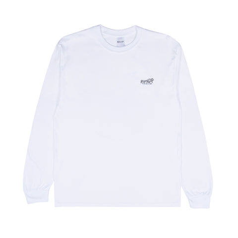 The Great Wave Of Nerm L/S Tee (White)