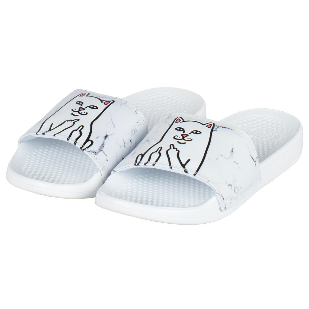 Lord Nermal Slides (White Marble)