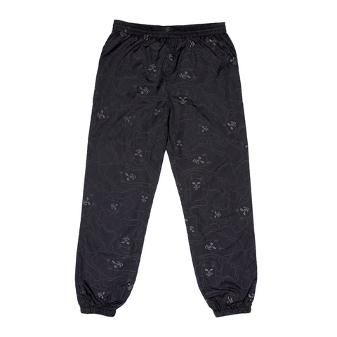 Nermal 3M Line Camo Track Pants (Black)