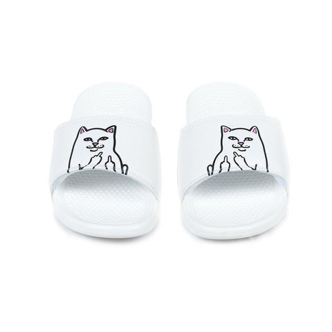 Lord Nermal Slides (White)