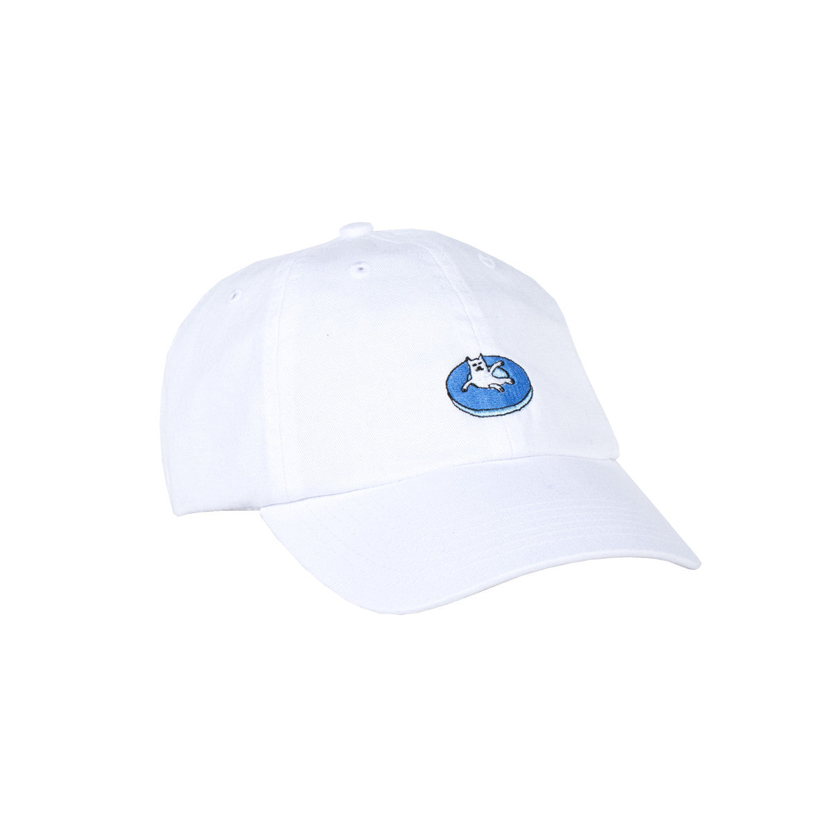 Floating Away Dad Hat (White)
