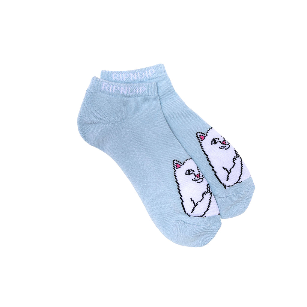 Lord Nermal Ankle Socks (Baby Blue)