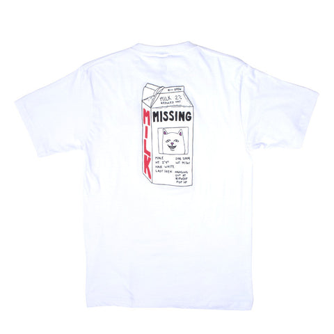 Milk Carton Tee (White)