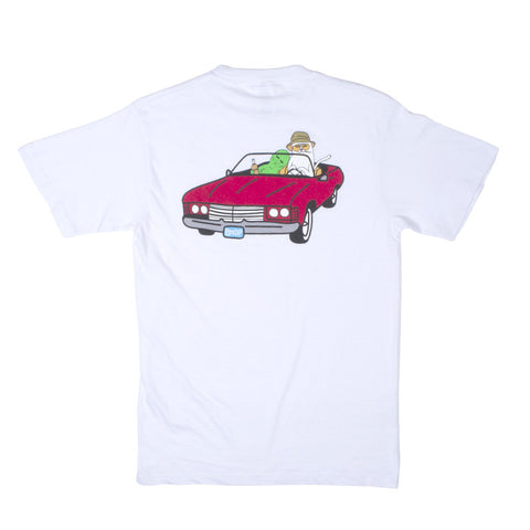 Fear & Loathing Tee (White)