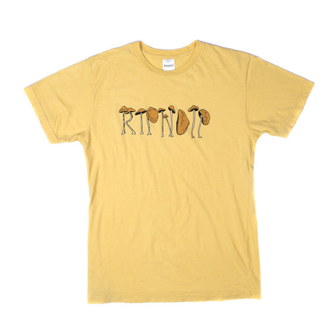 Capnstems Tee (Yellow)