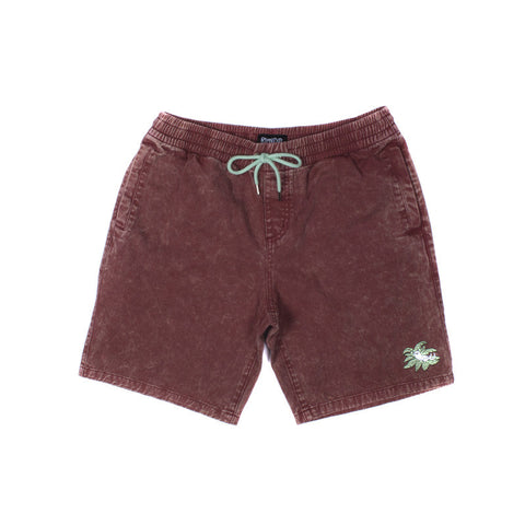 Jungle Nermal Volley Shorts (Red Acid)