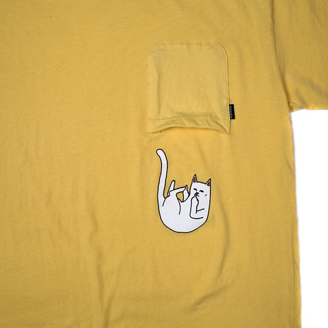 Falling For Nermal Pocket Tee (Banana)