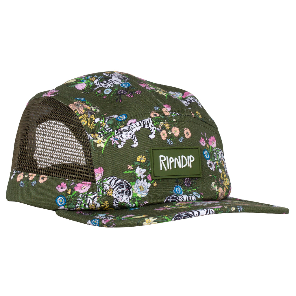 Blooming Nerm Cotton Twill Camper (Olive)