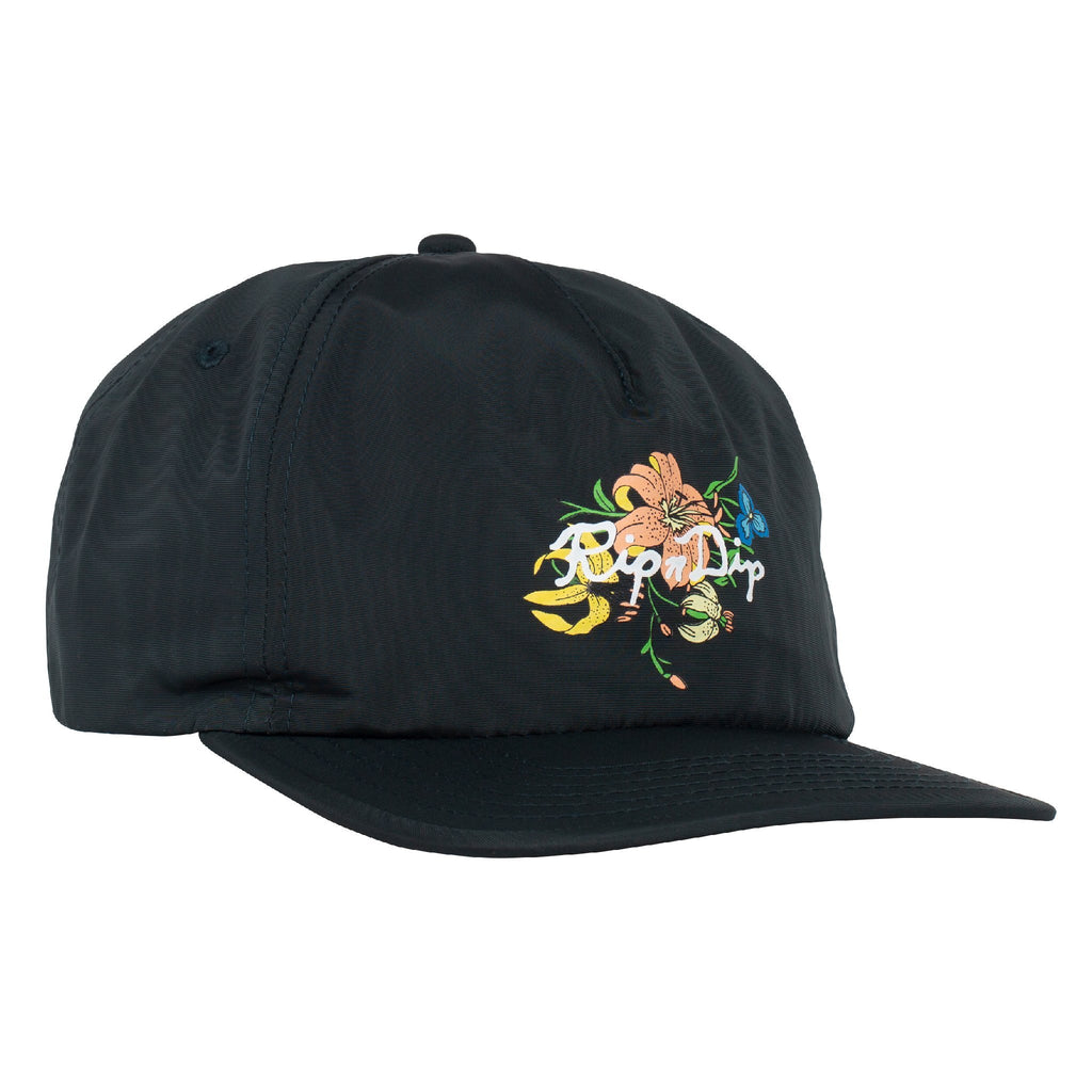Blooming Nerm Nylon 5 Panel Snapback (Forest)