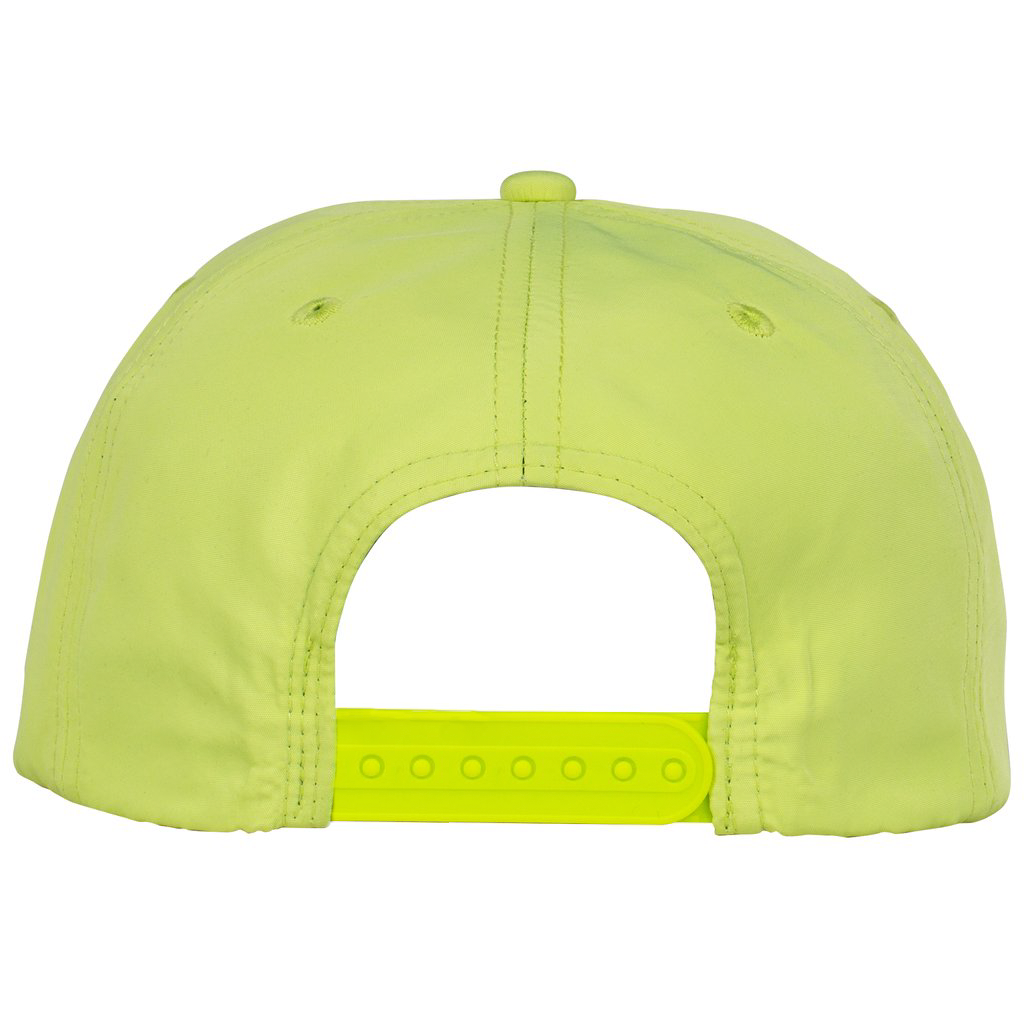 Blur Nylon 5 Panel Snapback (Yellow)