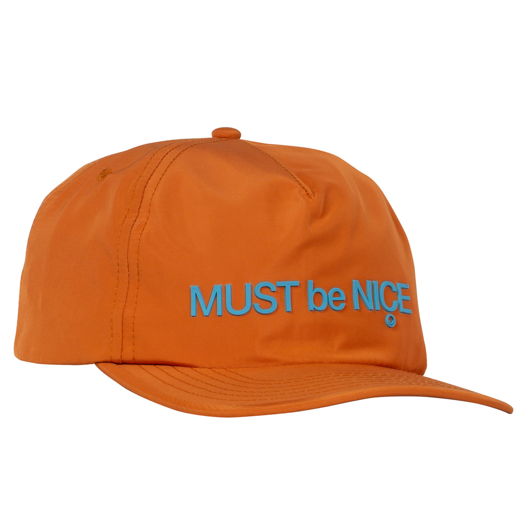 Blur Nylon 5 Panel Snapback (Orange)