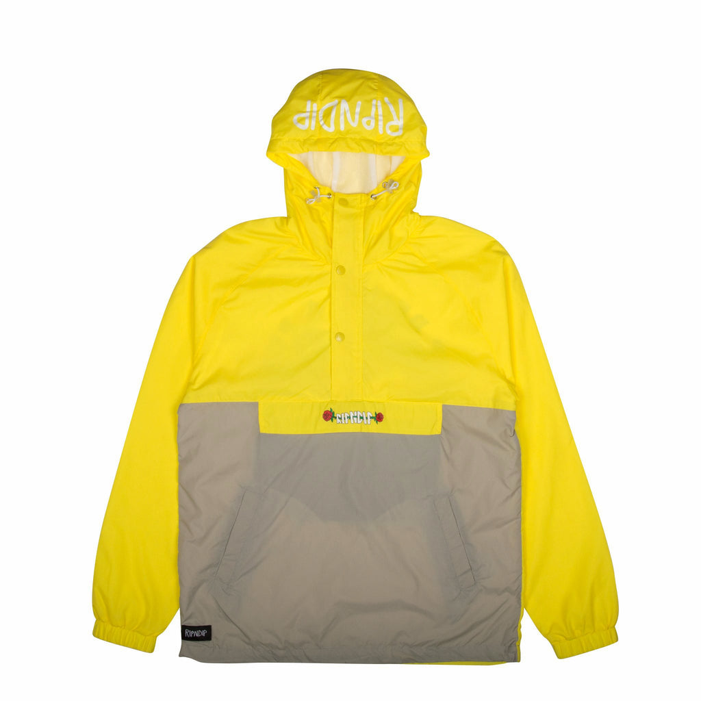 Cuddle Anorak Jacket (Yellow)