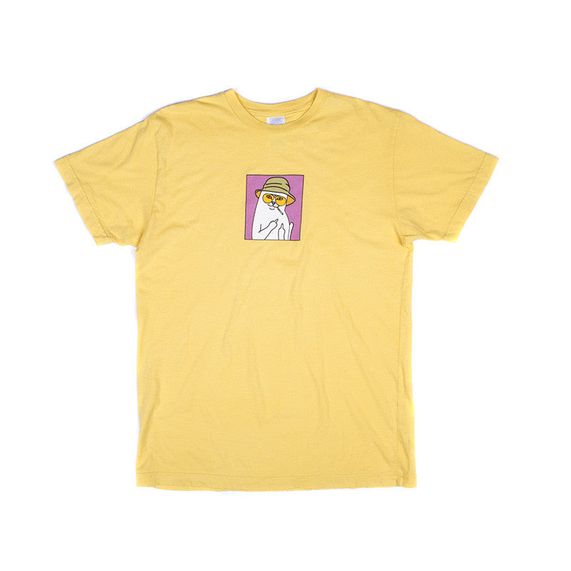Nermal S. Thompson Tee (Yellow)