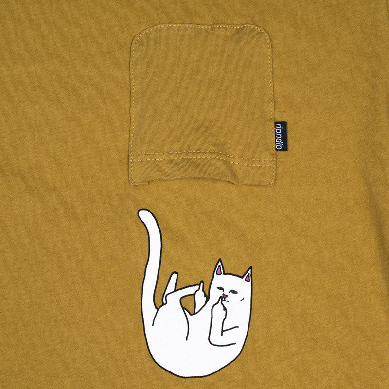 Falling For Nermal Pocket Tee (Burnt Orange)