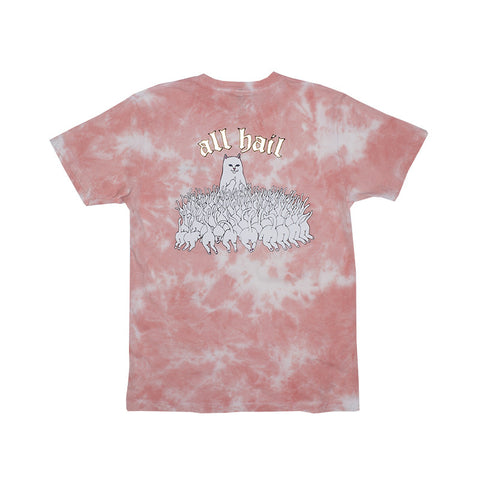 All Hail Tee (Rose Acid Wash)