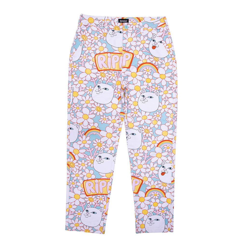 Daisy Daze Twill Pants (Multi)